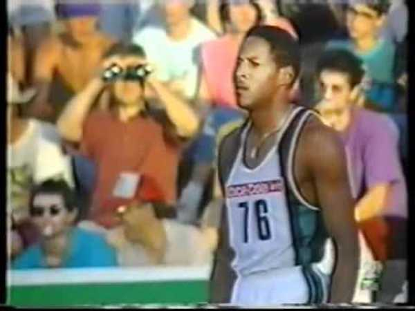 Javier Sotomayor World Record Holder High Jump Visualization