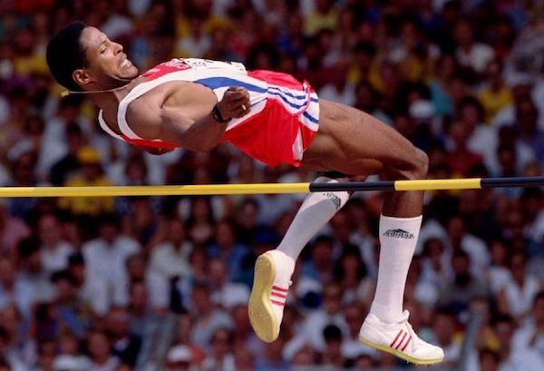 Javier Sotomayor high jump world record holder