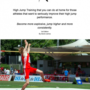 High jump training at home